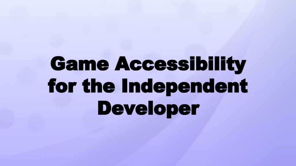 gameaccessibility
