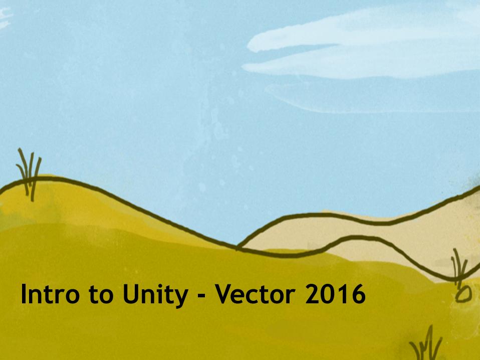 Intro to Unity slide