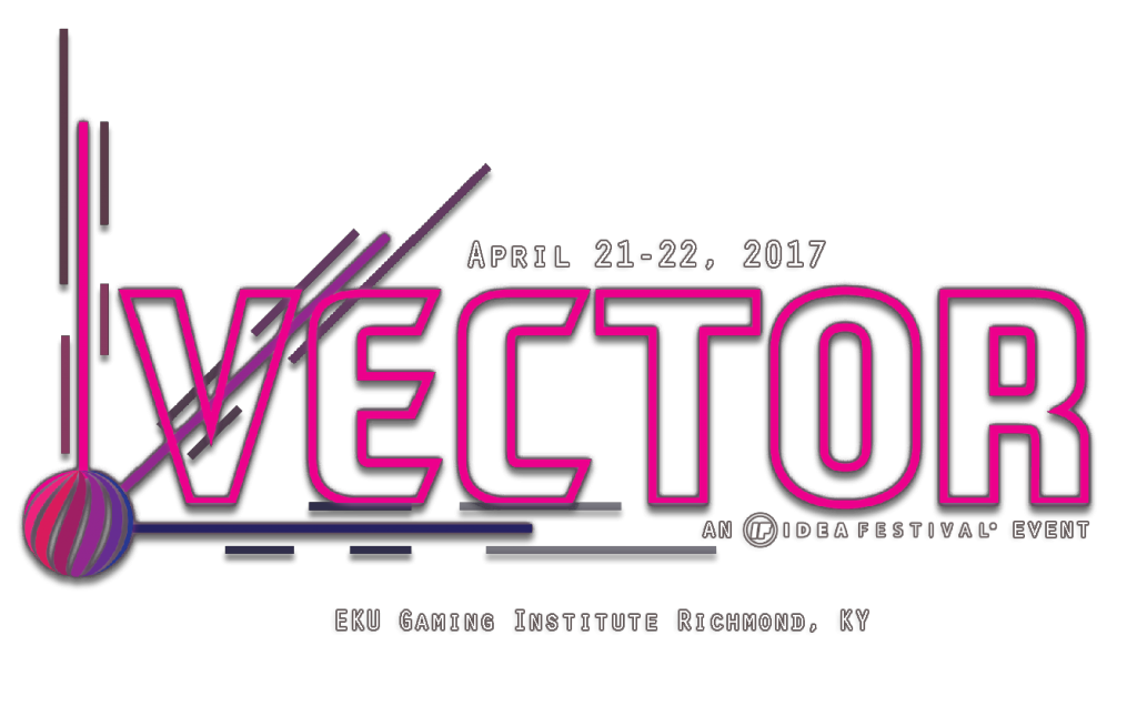 Vector Logo with April 21-22, 2017 date and Richmond Kentucky. It does say IdeaFestival event.